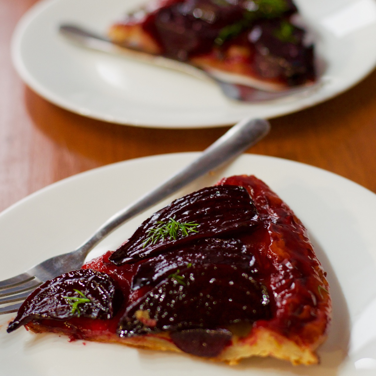 Caramelised Beetroot Tart Tatin 1