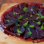 Caramelised Beetroot Tart Tatin
