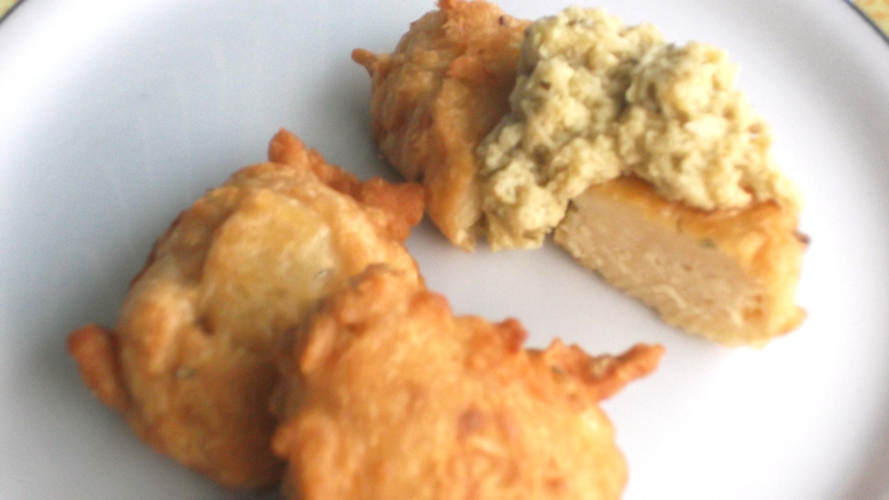 Chickpea fritter
