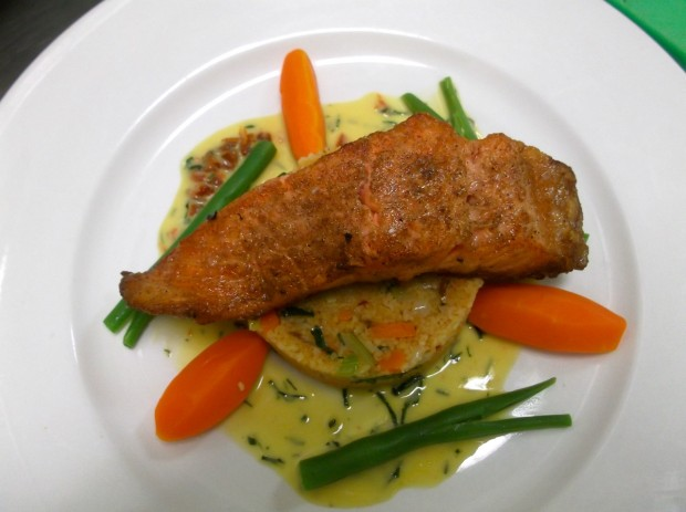 Panfried Salmon