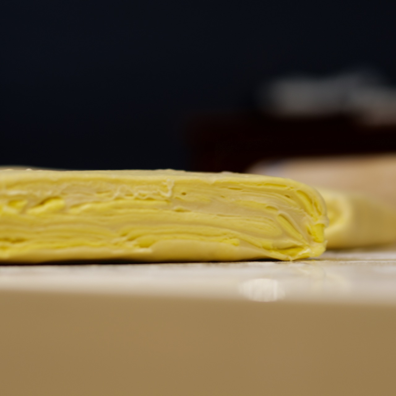 puff pastry layers